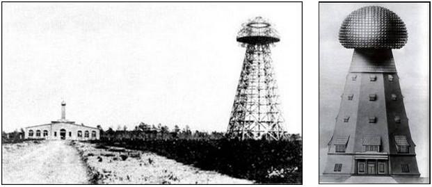 Figura 8: la torre Wardenclyffe di Tesla