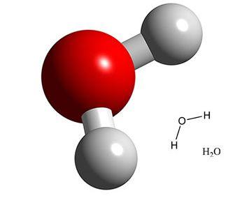 Risultati immagini per molecola acqua