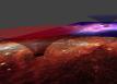 Simulazione di un wormhole. Crediti: Davide e Paolo Salucci, della SISSA di Trieste