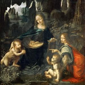 Vergine delle Rocce (Louvre)