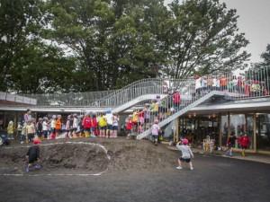 Fuji Kindergarten  asilo pensato per diventare una distrazione