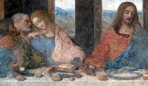 L'ultima cena particolare Leonardo Da Vinci