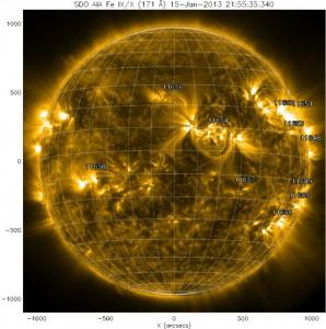 espulsione di massa coronale 2013 CME