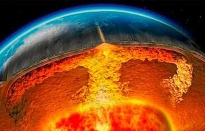 Ossigeno liquido mantello terrestre