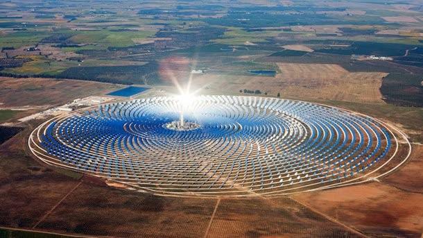 Ouarzazate - Marocco impianto fotovoltaico energia solare