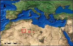 Teorico spazio necessario pannelli solari