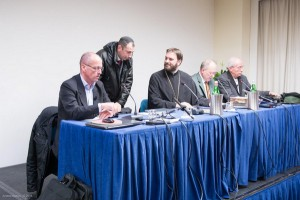 Mauro Biglino e i teologi - Foto Andrea Badoni