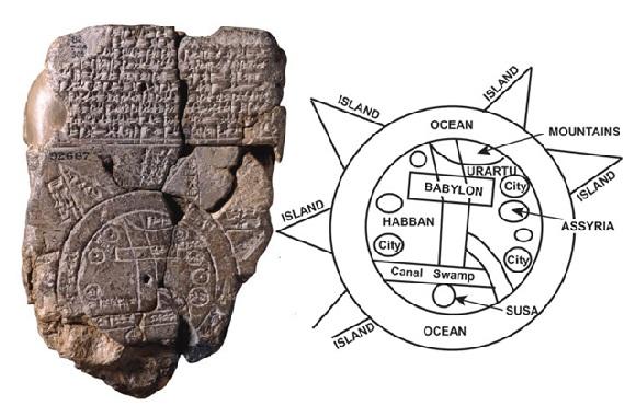 terra o mondo babilonese
