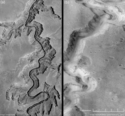 L'effetto serra? C'è anche su Marte