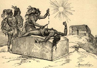 """Il """"fiore prezioso"""" sacrifici umani e ritualità nelle antiche Americhe"""