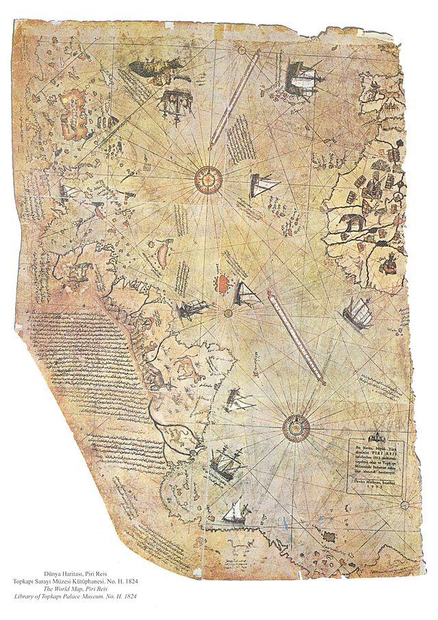 mappa di Piri Reis