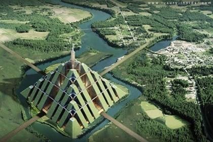 Piramidi eco-compatibili