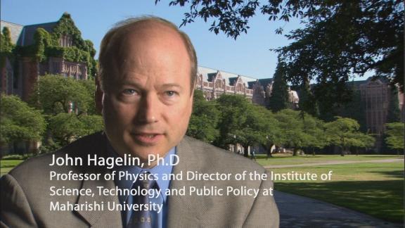 Superstringhe e oltre – Intervista con John Hagelin