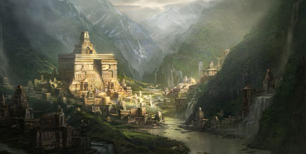 Gyanganj, Shambala o Shangri-la: terra di esseri immortali