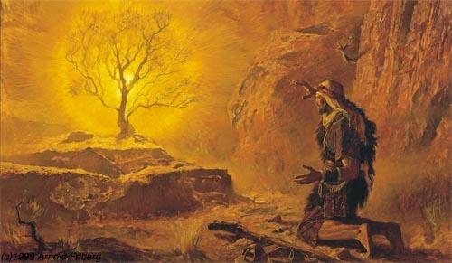 testo originale del discorso di Mosè al popolo ebraico