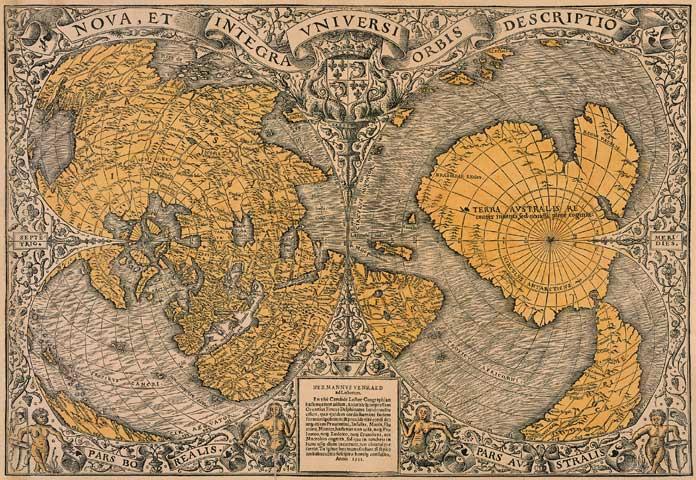 L'incredibile mappa di Orontius Finaeus
