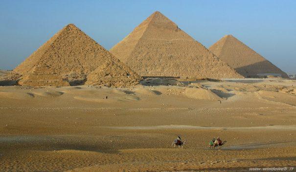 Piana di Giza: scoperte gallerie sotterranee sotto le piramidi?