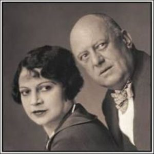 Rose Kelly con Aleister Crowley