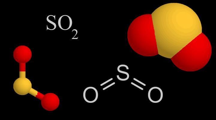 SO2 (Sulphur dioxide)