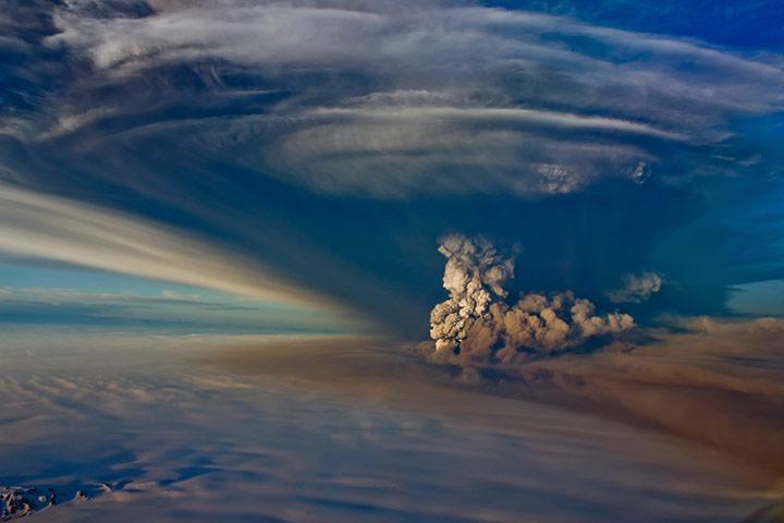 vulcano Eyjafjöll