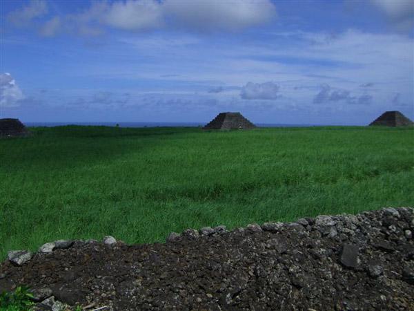 Sette piramidi individuate sull'isola africana di Mauritius
