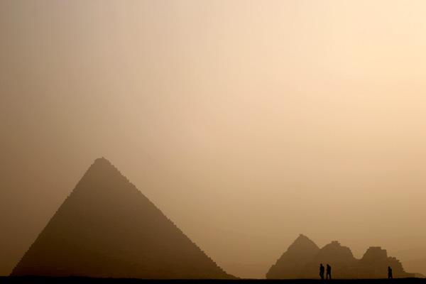 Archeologia, Raggi infrarossi scoprono piramidi nascoste