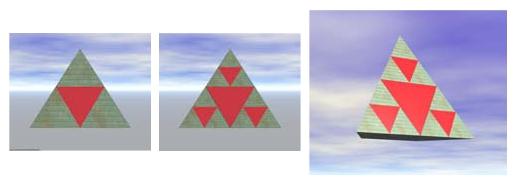 frattale triangoli