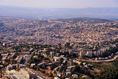 nazareth-aerial