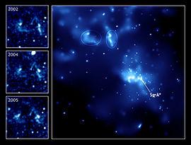 Sagittarius A *, buco nero o wormhole