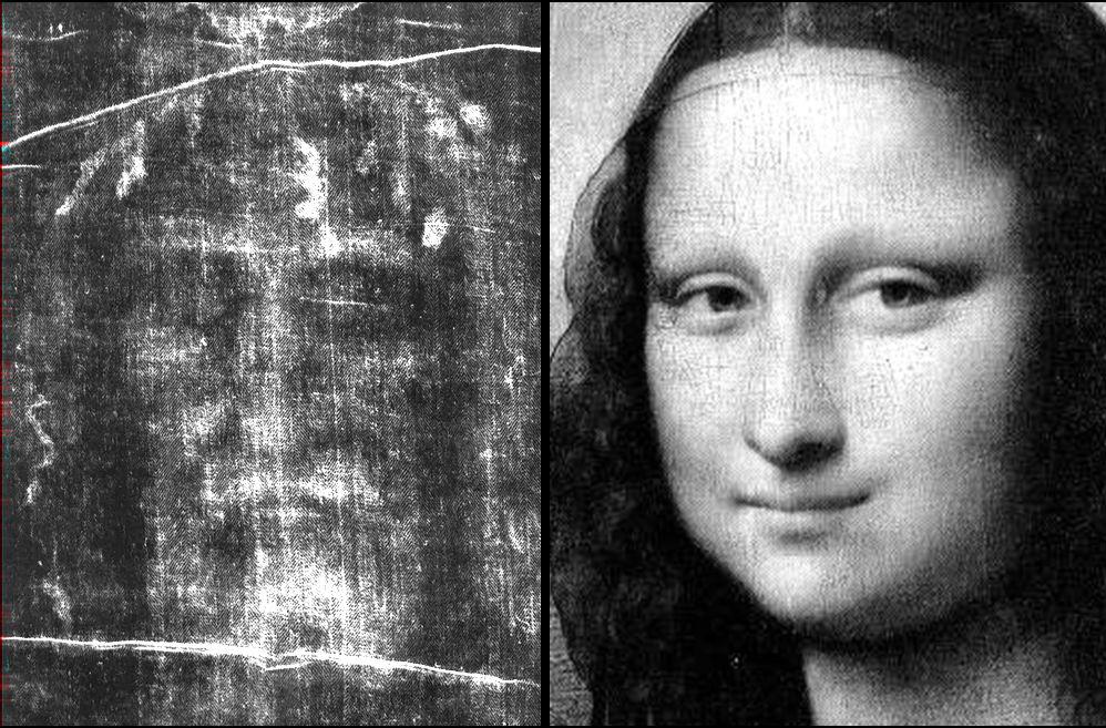 Cosa unisce la Sacra Sindone alla Gioconda di Leonardo?