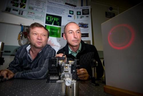 Realizzato raggio laser traente: raggiunto importante traguardo per la fisica
