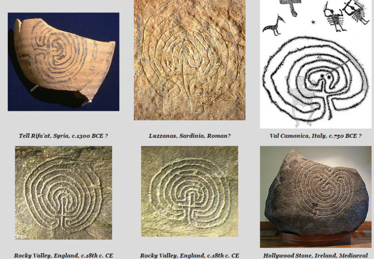 Tra spirali,  Labirinti e danze sacre