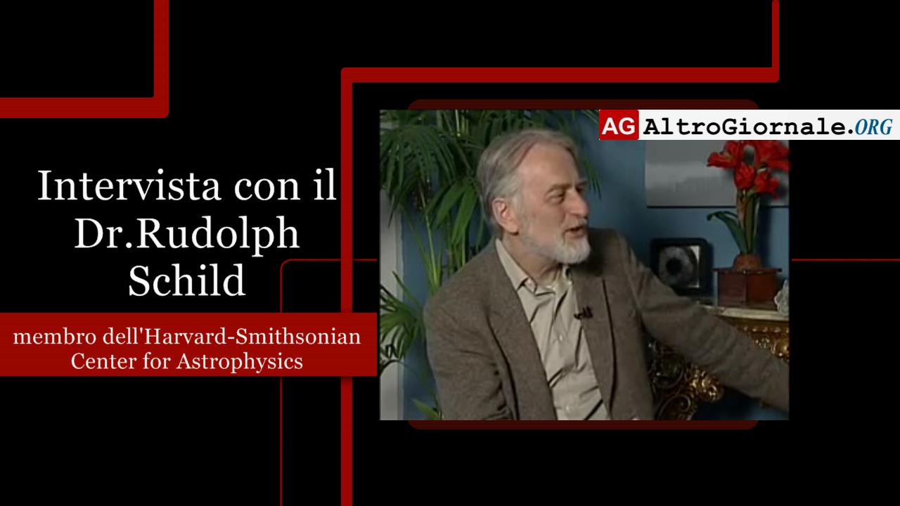 Intervista con il Dr.Rudolph Schild – Propulsione quantistica degli UFO