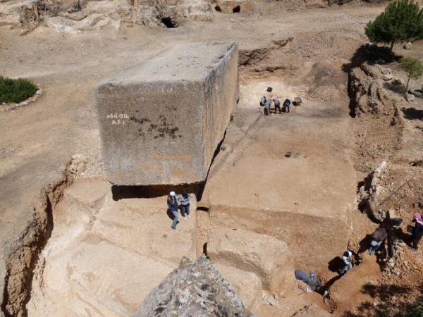 blocco di pietra