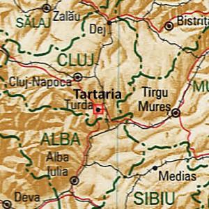Tartaria/Turda in Romania nella valle del Mures, in provincia di Alba. Qui sono state trovate le tavolette con la scrittura più antica del mondo.