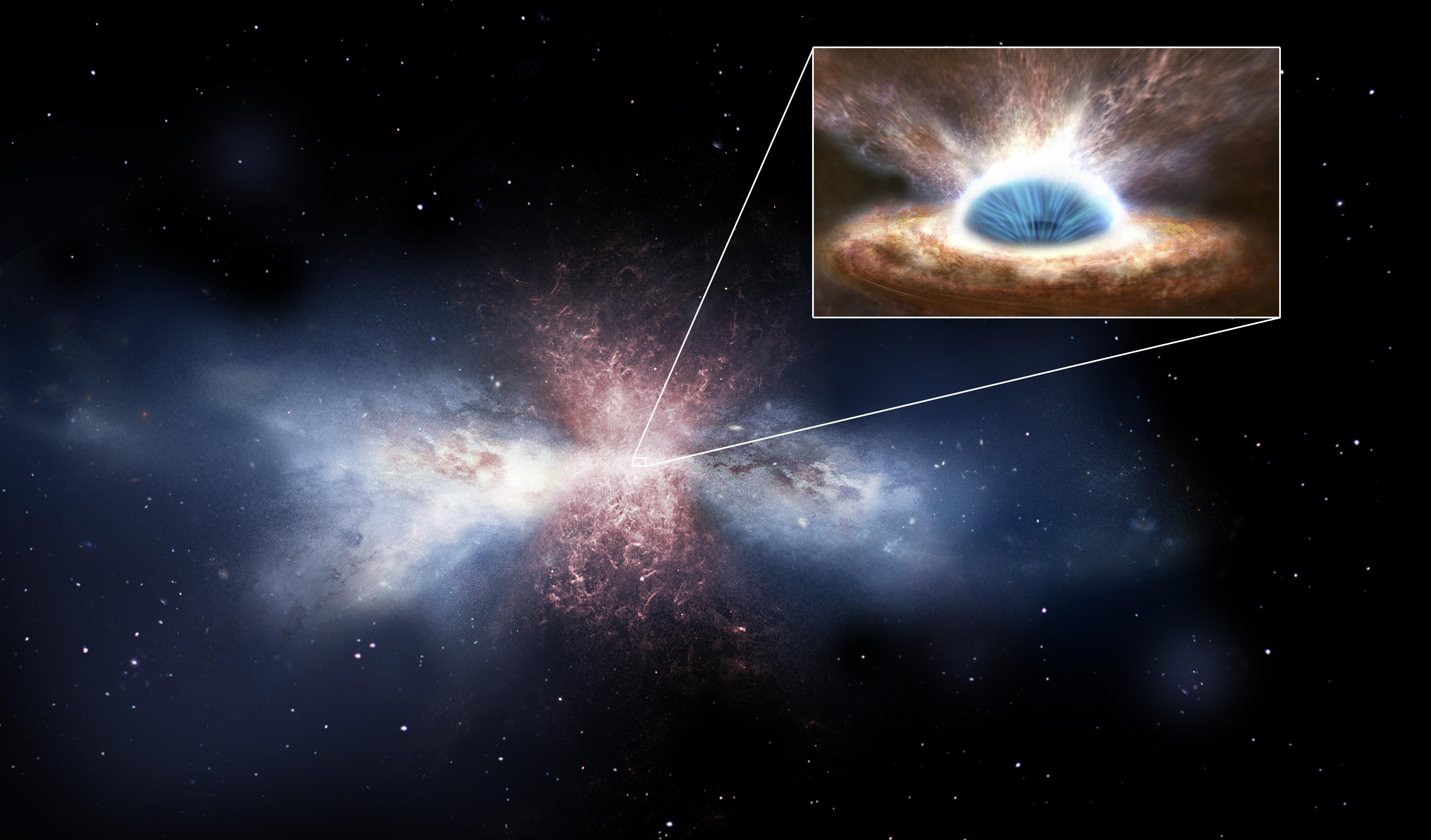 Attila il buco nero, flagello della galassia