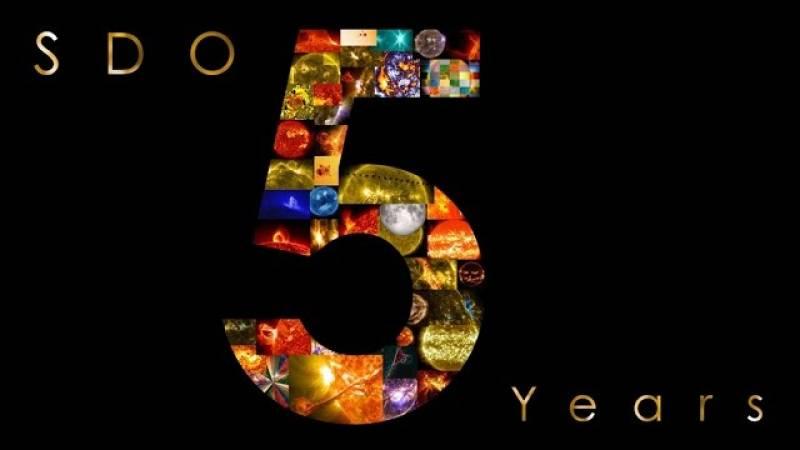 SDO, cinque anni di osservazione solare