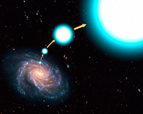 La stella più veloce della galassia
