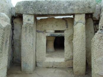 Altare nel tempio di Mnajdra
