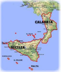 cartina1 Italia Malta