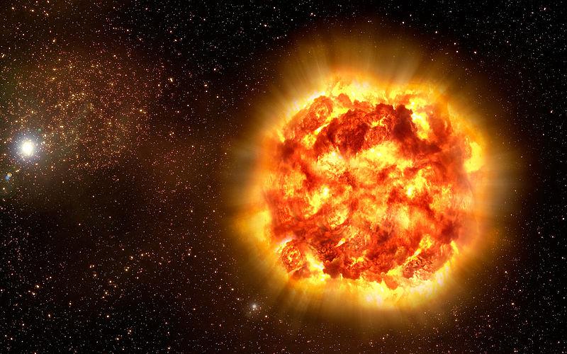 Esplosione di una supernova prevista con 15 giorni d'anticipo