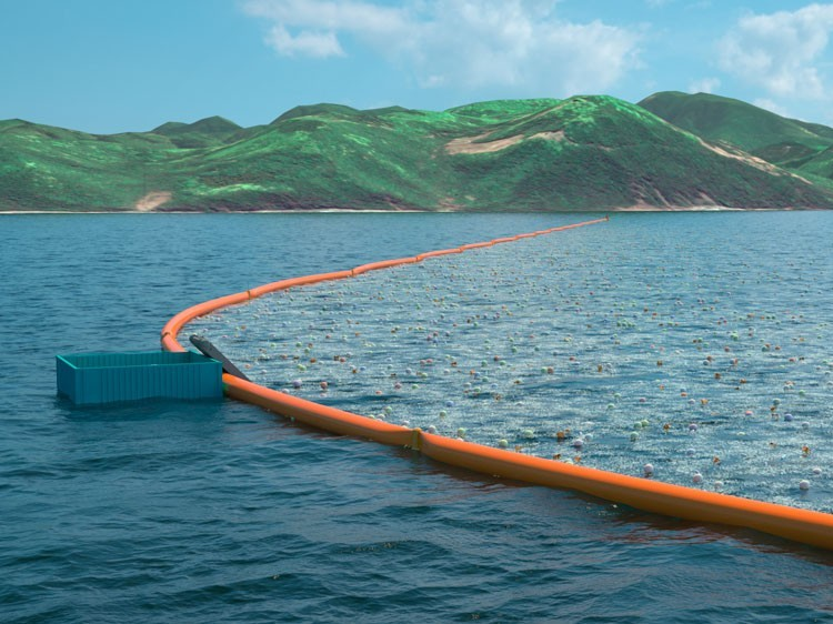 Ocean Cleanup Array – Operativo in Giappone dal 2016