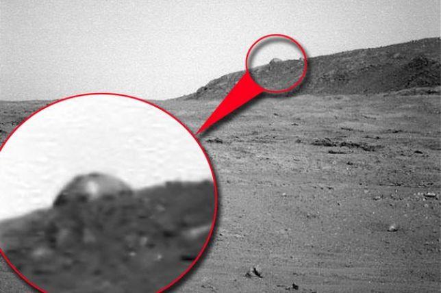 """Marte: le cupole """"sono artificiali e quindi di origine intelligente"""""""