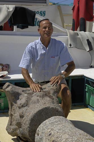 Franck Goddio Archeologo Marittimo