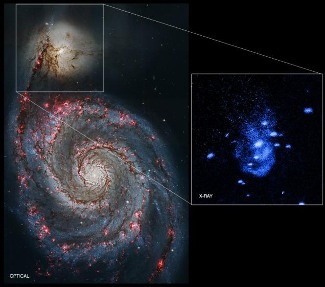 Il rigurgito del buco nero