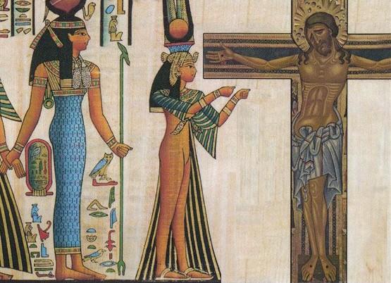 la vergine maria era la figlia della regina cleopatra d