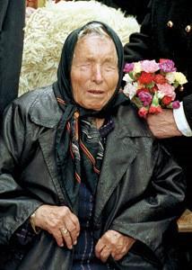 foto della famosa veggente bulgara Vanga