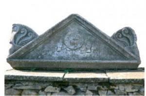 Resti della tomba di Mishkova Niva