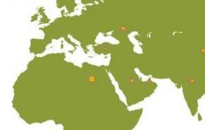 distribuzione nel mondo di pannelli solari
