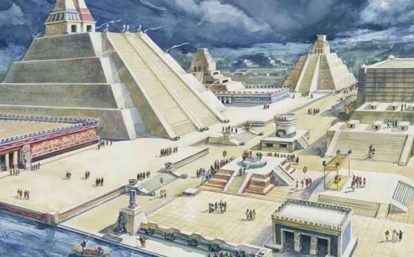 Tenochtitlán – Maestosa capitale dell'Impero Azteco